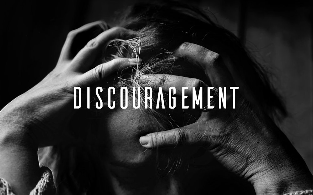 Image result for discouragement